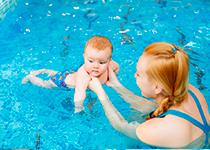 Babyzwemmen op zondag
